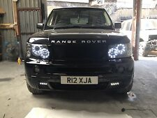 Range Rover Sport Headlight LED Rings Day Time Running Head Lights Conversion.