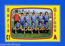 CALCIATORI PANINI 1985-86 - Figurina-Sticker n. 536 - CARRARESE SQUADRA -Rec