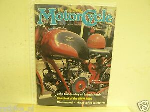 CLASSIC MOTORCYCLE 1981-AUG/SEPT 2 ISSUE,BMW R69S,GUZZI V8,SURTEES,