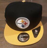 Pittsburgh Steelers New Era 9Fifty Adjustable Snapback Hat