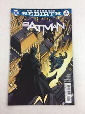 Batman Comic Book #4 Oct 2016 - DC Universe Rebirth