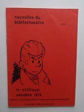 BD  Gil Jourdan - m.Tilleux 1973- Nouvelles du bibliothècaire - EO-TBE- Tillieux