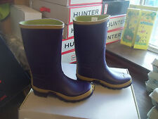 HUNTER WELLIES WELLINGTONS  IN HALIFAX SIZE 4 GARDENER BOOT SHORT WIDE LEG