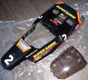 Tamiya 1/14 QuickDrive Super Sabre Shell NEW 46002 7800301 7800302