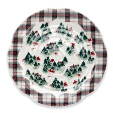 "New Qsquare Alaina Young Christmas Winter Eve 16"" Serving Platter 0026-010020"