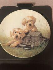 "Edwin M. Knowles ""Gone Fishin"" Plate (from Lynn Kaatz' Field Trip Collection)"
