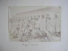 Algérie Touggourt photographie ancienne  coutelier arabe vintage albumen print