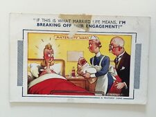Vintage Postcard - Bamforth Comic By D Tempest #913 - Unposted