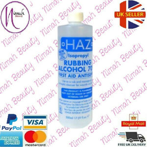 HAZ Isopropyl Rubbing Alcohol 70% First Aid Antiseptic Body Wounds Bruises500ml