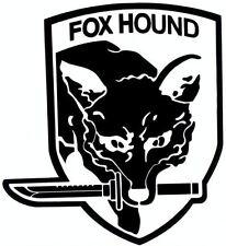 METAL GEAR FOX HOUND Vinyl Decal Car Truck Window laptop Sticker