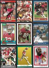 John Taylor San Francisco 49ers 1990's Topps Score Fleer NFL Football Card Lot