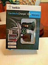 Belkin Car Micro Charger 5 Watt for IPhone and IPod Brand New