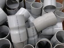 """PVC Pipe / Conduit Coupling  6""""  155mm  Rigid PVC  (lot of  ~150 pieces)"""