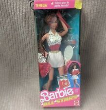 BARBIE AND THE ALL STARS TERESA DOLL 1989 Mattel 9353 BRAND NEW SEALED BOX