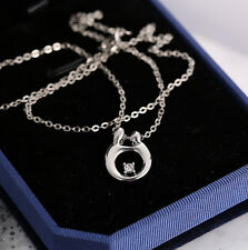 Hot Silver Chain Pendant Mom Mother and Child Necklace Mother's Day Gift Fashion