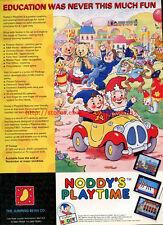 "Noddys Playtime ""Jumping Bean Co."" 1992 Magazine Advert #5677"