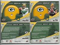 2008 (24) AARON RODGERS COMPLETE TEAM SET JORDY NELSON ROOKIE GREEN BAY PACKERS