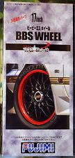 Felgen BBS Wheel 17 Zoll inkl. Reifen Pirelli P Zero, 1:24, Fujimi 193274