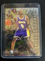 1996 96-97 Fleer Metal Kobe Bryant ROOKIE RC #181 Los Angeles Lakers BLACK MAMBA