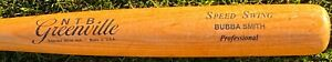 """Mariners Minor League Bubba Smith NTB Greenville Uncracked Pro Game Used Bat-34"""""""