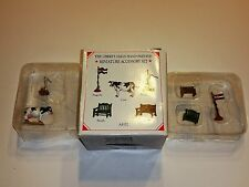 Liberty Falls Hand Painted Miniature Accessory Set Ah161 5 Figurines