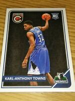 KARL-ANTHONY TOWNS MINNESOTA TIMBERWOLVES 2015-16 PANINI COMPLETE ROOKIE CARD