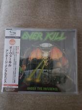 Overkill Under The Influence Japan SHM CD WQCP 1370 (2013)