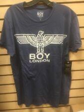 BOY London Large 100% Authentic NEW Mens T-shirt Sky Blue #17