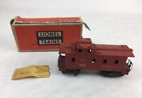 VINTAGE Lionel Southern Pacific 6257 CABOOSE AUTHENTIC ORIGINAL BOX