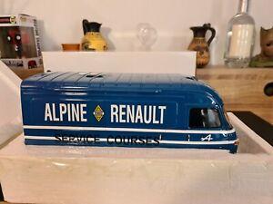 Rare 1/18 OTTO Ottomobile Renault Saviem SB2 Assistance Alpine