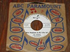 "Vic Donna - What Happened To My Little Girl 7"" NM- Teen Pop Vocal w/ Everytime"