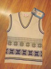 Vintage NWT Vincenti Vest/Sweater True vintage 1970s Size 12