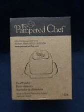 Pampered Chef Food Holder 1124 for Food Grater Black New in Box w/ Instructions