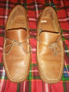 Brown Barbour Driving Shoes Size 8