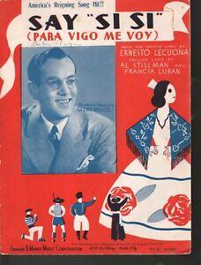 Say Si Si 1936 Glenn Miller English and Spanish