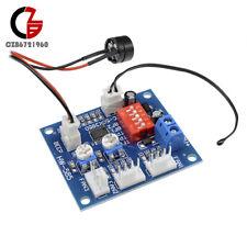 2pcs DC 12V Fan Temperature Control Speed Controller CPU High-Temp Alarm PWM PC
