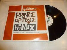 "GALLIANO - Prince Of Peace (remix) - 1992 UK 4-track 12"" vinyl single"