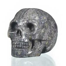 """1.93""""Natural Sugilite Crystal Carved Skull Collectibles Reiki Healing #31B73"""