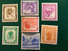 More details for colombia stamps upu 75th anniversary (1948) issued1950 mnh