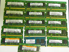 Lot of 16 256MB PC2-4200s- 4444 Laptop Memory