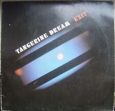 TANGERINE DREAM  -  Exit  -  LP