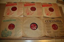 "6x 78rpm JO STAFFORD 10"" 2w Frankie Laine Columbia Paul Weston Orchestra 1950-52"