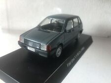 #448 Fiat Uno 1.1 55 Cv 1986 Dark Gray  - DIE CAST 1:43