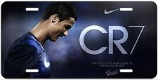 Custom Cristiano Ronaldo CR7 Soccer License Plate
