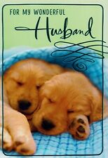 Hallmark For My Wonderful Husband Happy Birthday Greeting Card