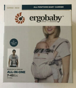 Ergobaby Omni 360 All In One Cool Air Mesh Baby Carrier Maui BRAND NEW