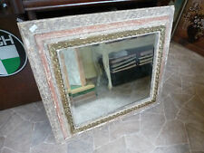 Bilderrahmen antik Spiegel Facettschliff shabby chic Style vintage mirror