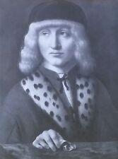 Francesco Di Bartolommeo, Giovanni Ambrogio de Predis, Magic Lantern Glass Slide