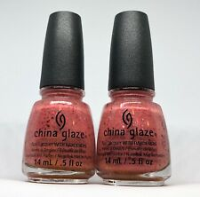 China Glaze Nail Polish Don't Let the Dead Bite 1335 Blood Splatter Look Lacquer