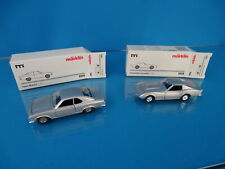Marklin 1818 Set of 2 cars scale 1:43 Blank metal Chevrolet & OPEL